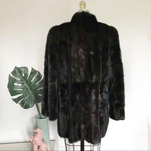 Vintage Jackets & Coats - Vintage • Authentic Mink Coat